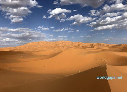 【メルズーガ】サハラ砂漠すごい